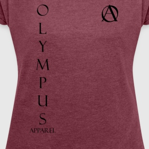Olympus Apparel Ascention - Women's T-shirt with rolled up sleeves