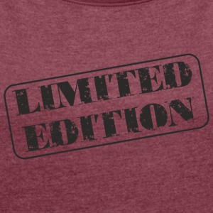 limited edition - Women's T-shirt with rolled up sleeves