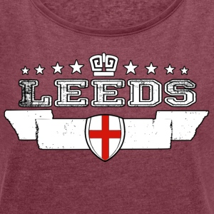 leeds - Women's T-shirt with rolled up sleeves