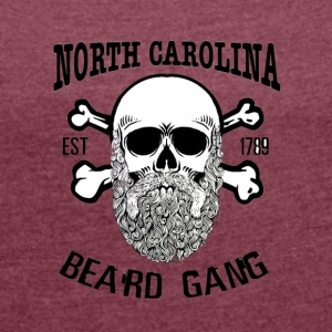 North carolina - Women's T-shirt with rolled up sleeves