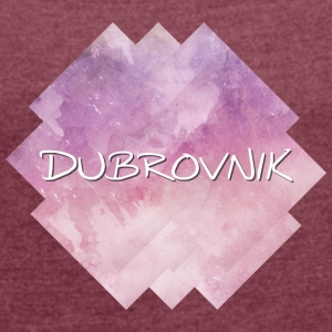Dubrovnik - Women's T-shirt with rolled up sleeves