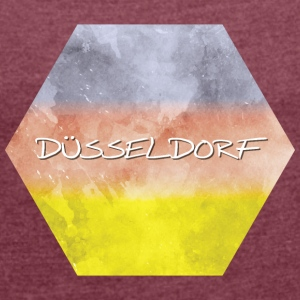 Dusseldorf - Women's T-shirt with rolled up sleeves