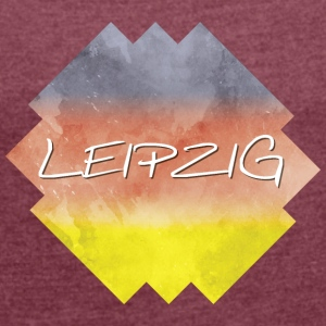 Leipzig - Women's T-shirt with rolled up sleeves