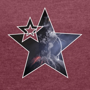 "Star ""Vulcano"" - Women's T-shirt with rolled up sleeves"