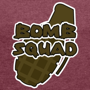 Military / Soldiers: Bomb Squad - Women's T-shirt with rolled up sleeves