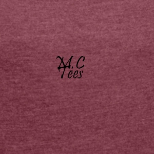 Official MCTees Logo - Women's T-shirt with rolled up sleeves