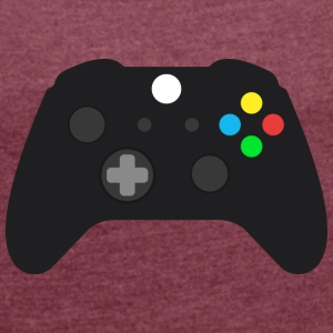 controller - Women's T-shirt with rolled up sleeves