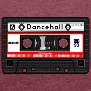 Dancehall cassette - Women's T-shirt with rolled up sleeves