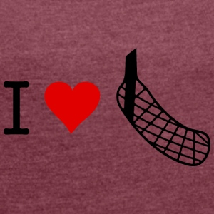 Floorball Shaft - Women's T-shirt with rolled up sleeves
