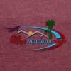 The Happy Wanderer Club Merchandise - Women's T-shirt with rolled up sleeves