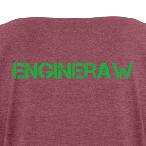 Engineraw - Women's T-shirt with rolled up sleeves