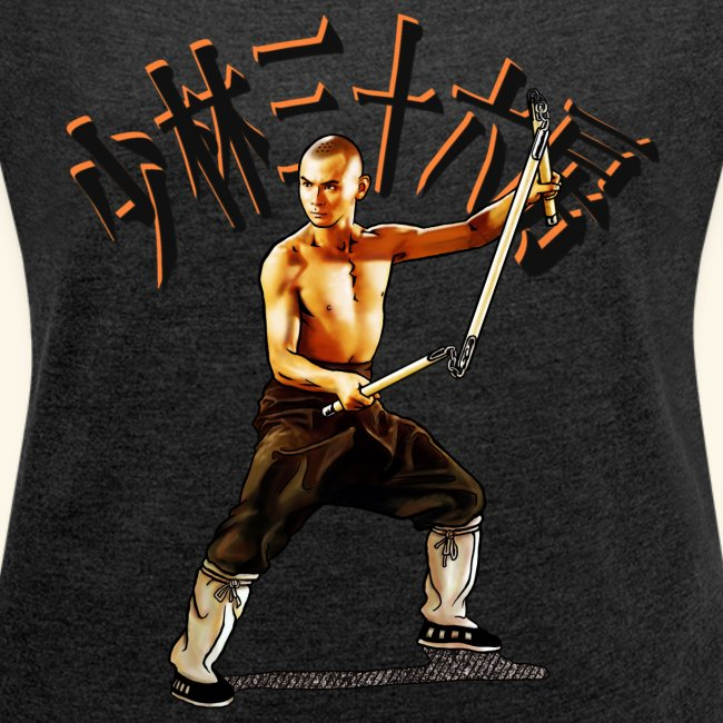 Shaolin Warrior Monk - 3 Section Staff