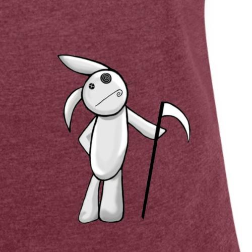 Rabbit - T-shirt à manches retroussées Femme