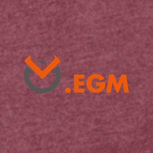 EGM LOGO V3 - T-shirt à manches retroussées Femme