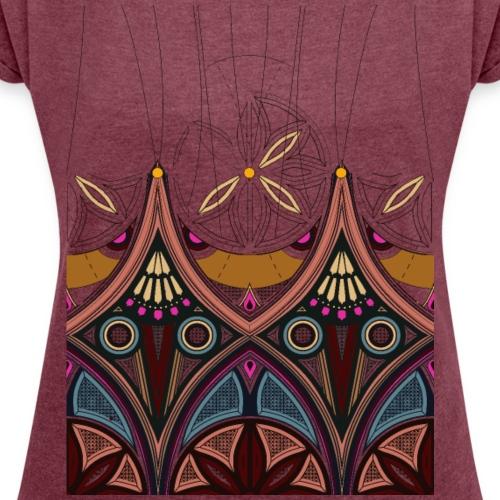 Arabesco - Maglietta da donna con risvolti