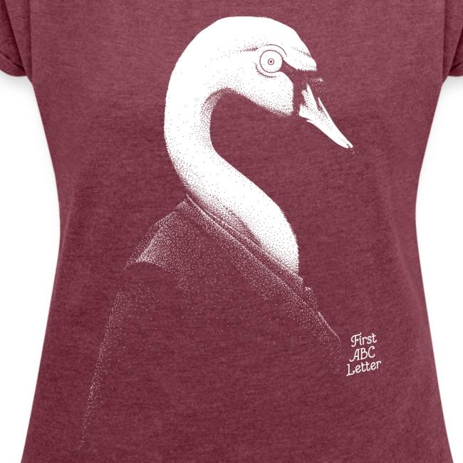 White Swan dressed in Black