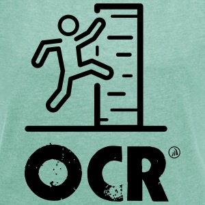 OCR - obstacle course - Women's T-shirt with rolled up sleeves