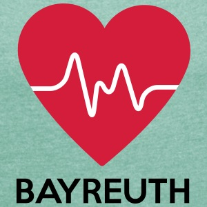 heart Bayreuth - Women's T-shirt with rolled up sleeves