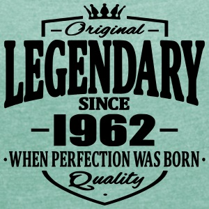 Legendary since 1962 - Women's T-shirt with rolled up sleeves