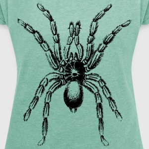 Spider - Women's T-shirt with rolled up sleeves