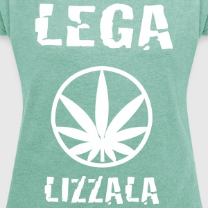 LEGAlizzala - Women's T-shirt with rolled up sleeves