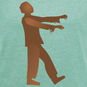 Working Class Zombie - Women's T-shirt with rolled up sleeves