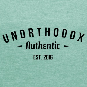 Unorthodox Authentic - Dame T-shirt med rulleærmer