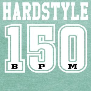Hardstyle - 150 - BPM T-shirt and hoodie - Women's T-shirt with rolled up sleeves