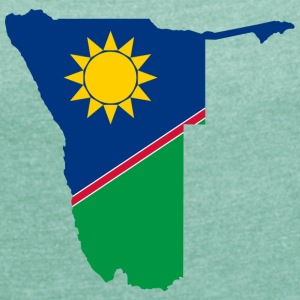 namibia collection - Frauen T-Shirt mit gerollten Ärmeln
