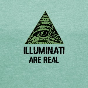 Illuminati - Women's T-shirt with rolled up sleeves