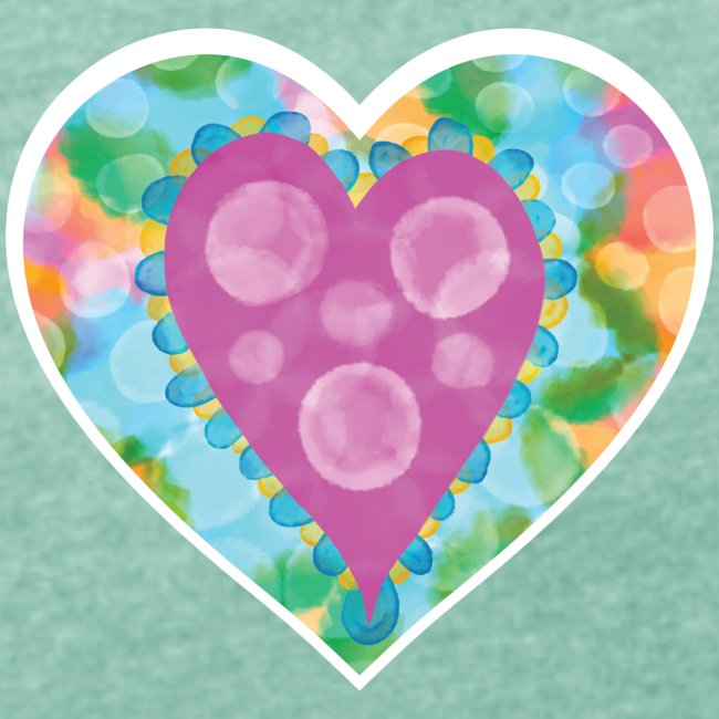 Heart Bubbles make you float