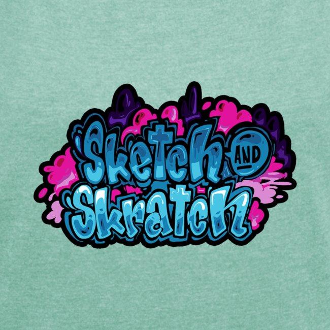 Sketch & Skratch logo hoodie