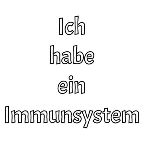 Immunsystem - Frauen T-Shirt mit gerollten Ärmeln
