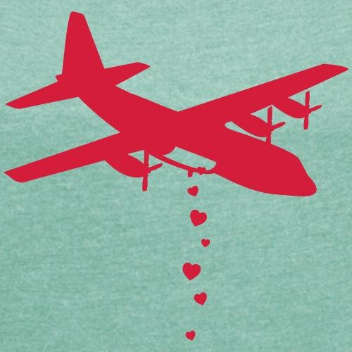 Love Bomber - T-shirt à manches retroussées Femme