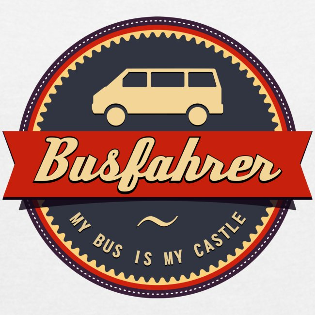Busfahrer Retro