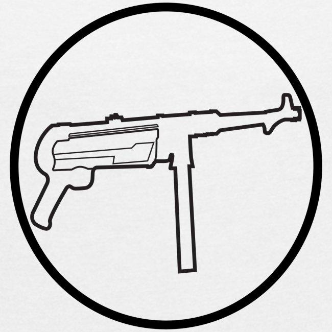 Mp40 german gun maschinenpistole 40