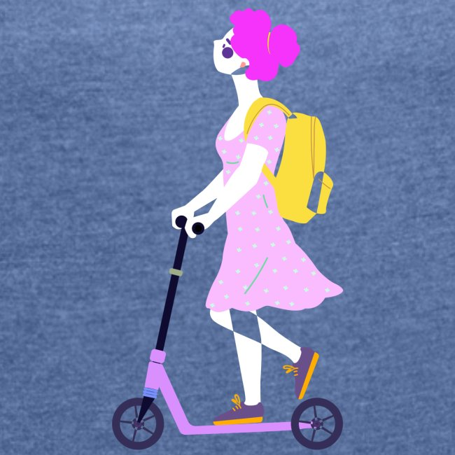 girl scooter 1