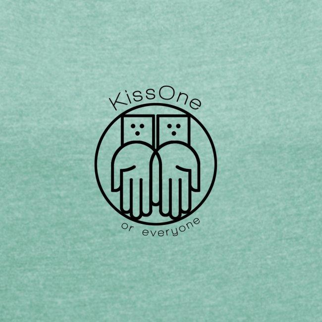 Kiss One logo wireframe