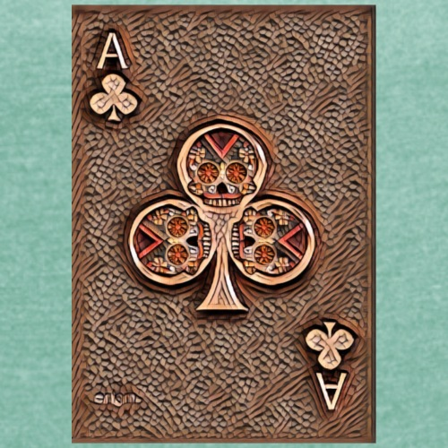 Ace of clubs woody - The skulls players