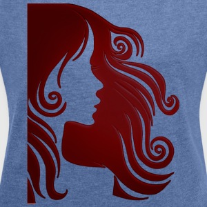 Mrs - Women's T-shirt with rolled up sleeves