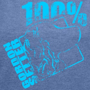 GORDON SETTER 100 - Women's T-shirt with rolled up sleeves