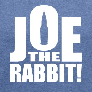 Joe The Rabbit! Logo - Maglietta da donna con risvolti