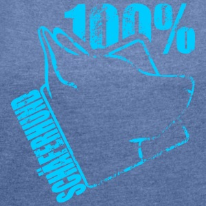 SHEPHERD 100 - Women's T-shirt with rolled up sleeves