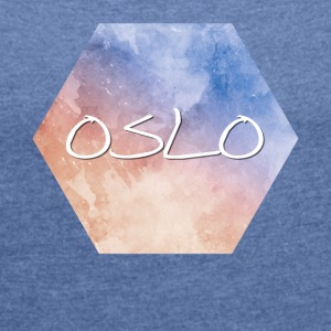 Oslo - Women's T-shirt with rolled up sleeves