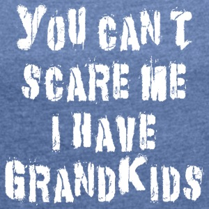 Funny Grandkids - Women's T-shirt with rolled up sleeves