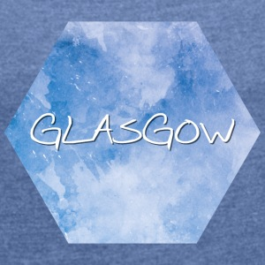 Glasgow - Women's T-shirt with rolled up sleeves