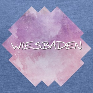 Wiesbaden - Women's T-shirt with rolled up sleeves