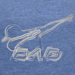 DAB brushed style - Women's T-shirt with rolled up sleeves