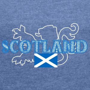 scotland - Women's T-shirt with rolled up sleeves