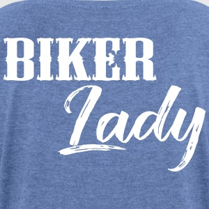 Biker Lady - Women's T-shirt with rolled up sleeves